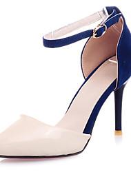 Кожи женщин стилет каблук каблуки Насосы / каблуки обуви (больше цветов)