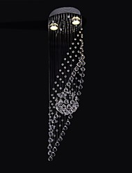 50W 2Light  Clear light K9 Crystal Chandelier Lamp