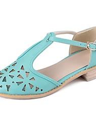 chunky talon t-spartiates des femmes avec des chaussures creux en sortie (plus de couleurs)