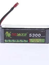 LION 11.1V 5300MAH Rechargeable 35C Li-Po Battery for Rc Model Plane(T Plug)