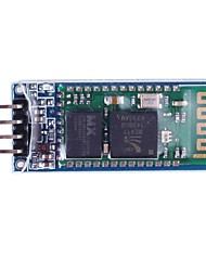 4-Pin Bluetooth Board Module with Cable - Blue + White