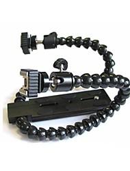 Con cabeza de pulpo Macro Soporte para Flash E-soporte con PTZ / Shoe