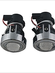 12V 55W Halogen Lamp for Car Fog Light with CCFL Angel Eyes (White Light)