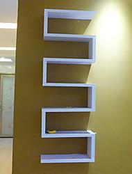 Modern Solid Unitized Wall Mounted Storaging Shelf