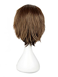 High Quality Cosplay Synthetic Wig Attack on Titan Anne&Middot Straight Short Wig(Brown)
