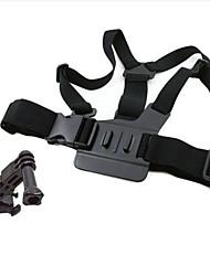 Pectoral cuerpo para GoPro Hero 3 + / 3/2/1 con Base de ajuste de 3 vías
