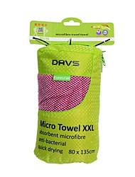 Viajes DAVS exterior anti-bacterial toalla absorbente de microfibra de secado rápido con el bolso y Talla XXL (2 Color)
