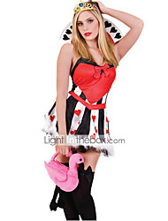Cosplay Costumes / Party Costume Movie/TV Theme Costumes Festival/Holiday Halloween Costumes Red Patchwork Dress Halloween / Carnival
