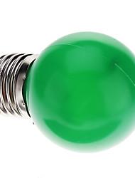 0.5W E26/E27 Ampoules Globe LED G45 7 Dip LED 50 lm Vert Décorative AC 100-240 V