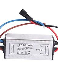 Driver de LED de 10W Waterproof IP66 3 Series 3 Paralela Fonte Converter (10V, 600mAh)