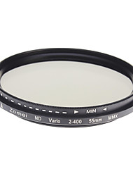 Filtre Zomei Professional Camera Super mince ND-Filter HD verre (55mm)