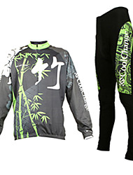 CoolChange Men's Cycling Suits Long Sleeve Bike Spring / AutumnThermal / Warm / Waterproof / Breathable / Quick Dry / Dust Proof /