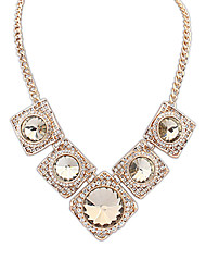 Anan Europe And The United States Street Snap Big-Name Costly Necklace(Gold)