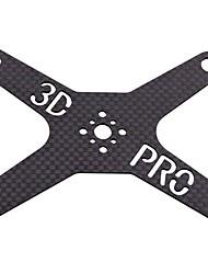 3D Carbon Fiber Anti-vibration Board/Adaption Board for DJI Phantom Vision 2 Quadcopter