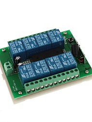 DDR3 DC 12V 8-Channel Multifuncional Wireless Switch para RC porta / janela / Controle Industrial