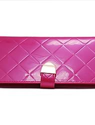 KIVI Classic Leather Fuchsia Handbag
