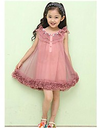 Girl's Fashion Flower Vintage Dresses    Lovely Princess Summer  Dresses