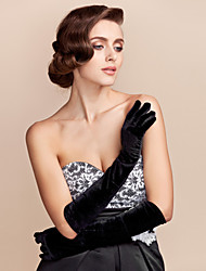 Elbow Length Fingertips Glove Cotton Party/ Evening Gloves