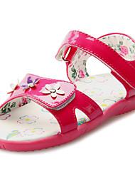 Confort Sandales talon plat Chaussures similicuir filles (plus de couleurs)