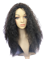 Capless Synthetic Long Black Curly Synthetic Hair Wig