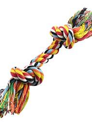 Kleine Bunte Bowknots Form Rope Kauen Spielzeug für Haustiere Hunde Katzen