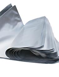 Bleuets 42 * 50 centímetros 24 Seal Luz Rainha Rosa vácuo puro fio de alumínio da folha Bags
