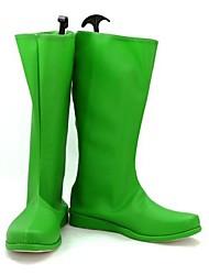Green Lantern Hal Jordan Hombres Cosplay Shoes