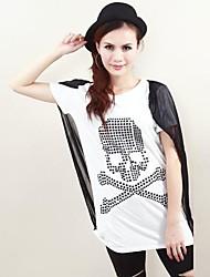 Foreign Trade of the Original Single Rivet Skull Characteristics Summer Dress Clearance