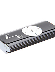 TF Card Reader Música Notas Digital Mp3 Player com Clip