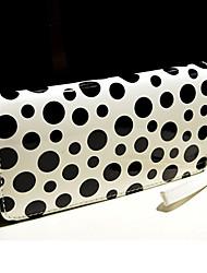 GMM Fashion Dot Long Wallet (schwarz-weiß)