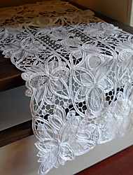 Classiques en polyester blanc Runners Tableau Floral