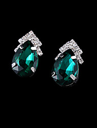 Tango Fashion Jewelry Rhinestone Studs/Earrings(Blue,GreenEZ0050)