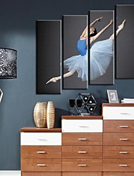 Stretched Canvas Art  For The Youth Dance Set of 4