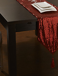 "12 ""x80"" современные блестки украшен стол бегун"