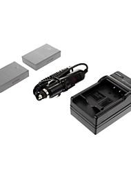 ismartdigi-Oly BLS-5 (2 шт) 1150mAh, 7.4V камера Аккумулятор + Автомобильное зарядное устройство для OLYPUSE-PL2 E-PL3 E-P3 EPL5 E-PM1 PM2 PM3