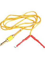 amarelo sílica gel cabo clip