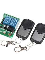 VGG06 DC 12V 315MHz 2 Canais Wireless Switch Remoto controles 2-remoto