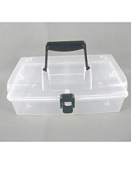 Plastic Transparent  Storage Case with Carrying