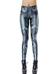 Elonbo Mysterious Style Digital Painting Tight Women Leggings