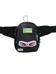 Multi-Purpose Elastic Crossing / cintura / PouchBag Com 2pcs mosquetão e cintura Bolsa