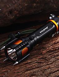 Torcia LED T6, 4 supporti, resitente agli urti, 5 modalità, Cree XM-L (1x18650, 2000LM)