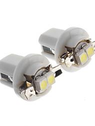 voiture t5 B8.5 led lumière tableau de bord côté ampoule intérieure, 2pcs / lot