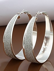 Meles 925 Silver Classics Earrings