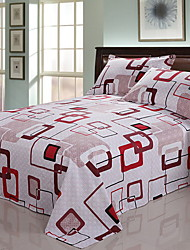 SINUOER Crash Three-Piece Bedclothes Geometry(Screen Color)