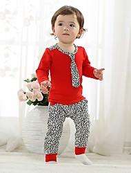 Casual Define roupas de algodão para crianças