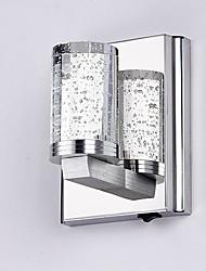 Cristallo / LED / Stile Mini Lampade a candela da parete,Moderno/contemporaneo LED integrato Metallo