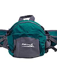 MAKINO 8L Multi-function Waterproof Nylon Waist Bag