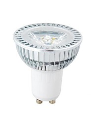 GU10 3W Dimmable 1W×3LEDs  270-300LM 3000-3500K Warm White LED Spot Bulb (AC 100-220V)