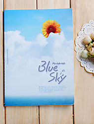 Blue Sky Notebook-Design-Pattern (zufällige Farbe)