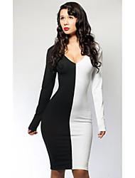 Mulheres Exportação Atacado Venda Super Hot Sexy Vestido